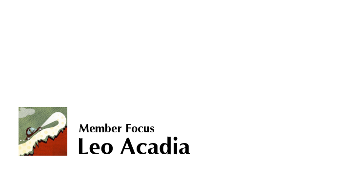 Image Text For Illustrator Leo Acadia